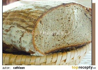 Kváskový podmáslový chléb recept - TopRecepty.cz