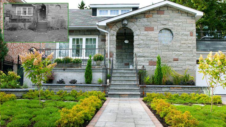 Comment Amenager Son Jardin Devant La Maison  Maisons