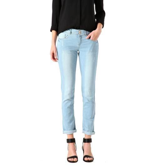 Sprane jeansy slim
