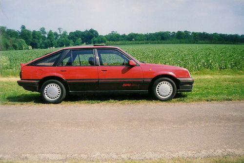 Vauxhall Cavalier SRi130 1987.