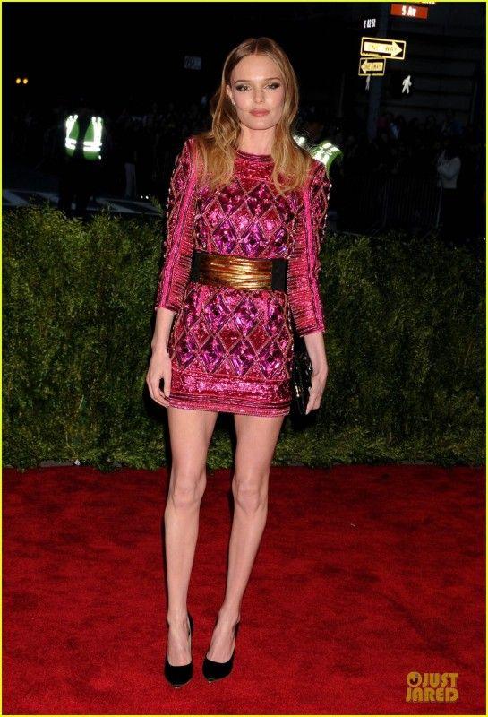 Kate Bosworth  2013 Met Gala in New York May 6 2013