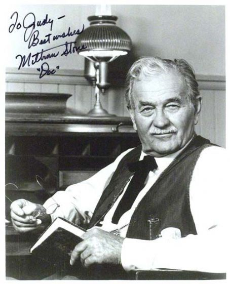 Milburn Stone (aka Doc Adams on Gunsmoke)