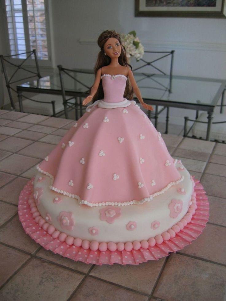 Barbie Fondant Cake Images : 25+ best Dress Cake ideas on Pinterest Wedding dress ...