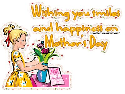 To all the mom's out there, hope your day was wonderful.