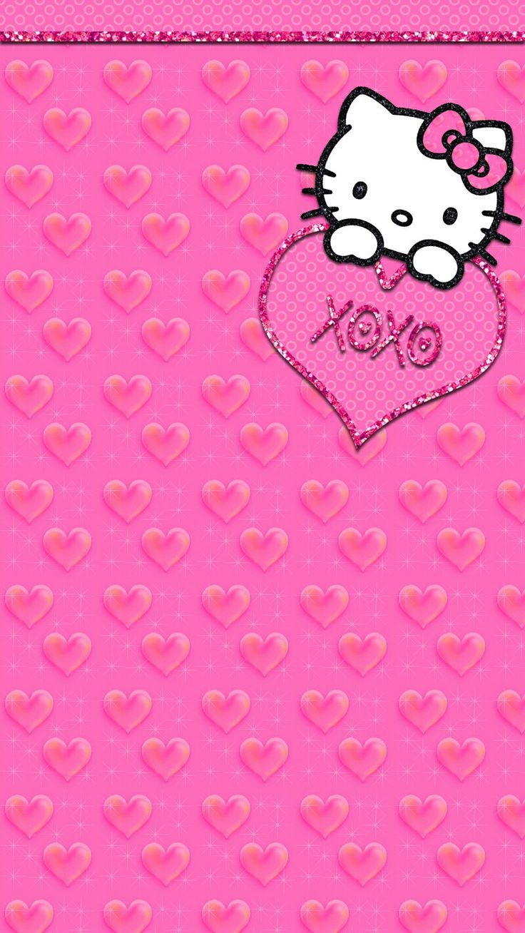 Hello Kitty Love Wallpaper.