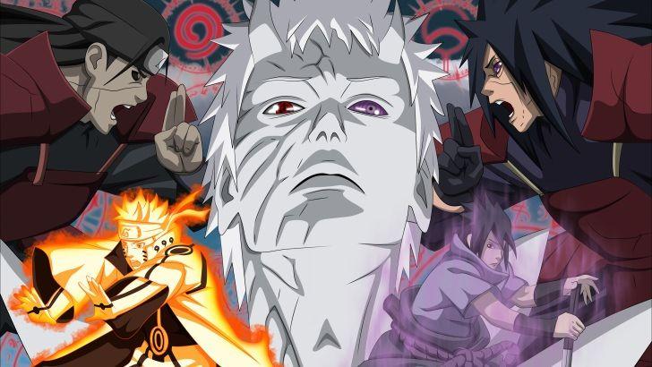 Naruto Vs. Madara Uchiha More wallpapers at https://www.hdwallpapers.net