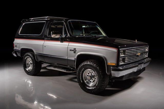 1984 Chevrolet Blazer Presented As Lot T149 At Glendale Az