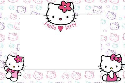 Imprimibles de Hello Kitty 22.