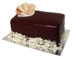 Dufflet- Black and white cake