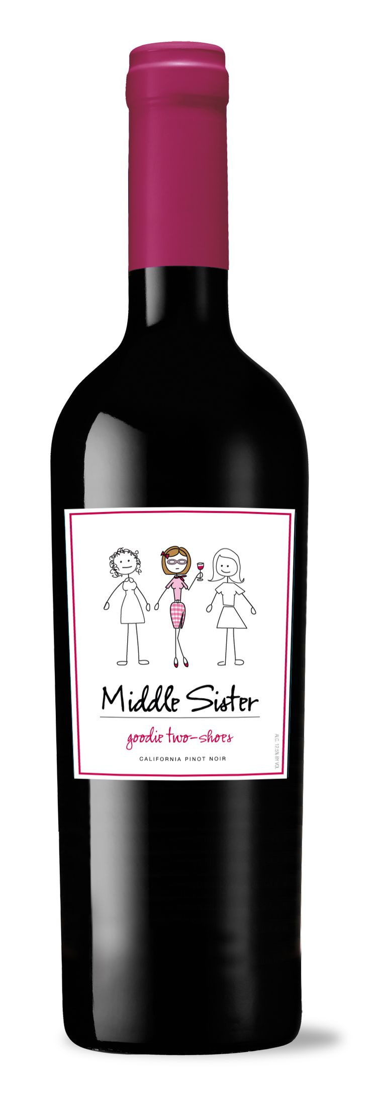 Middle Sister wine- got it as a gift.  Super cute and tastes good
