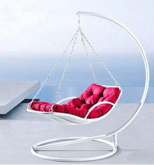 Mediterranean Sea Style Rattan hanging basket rattan rocking chair ...