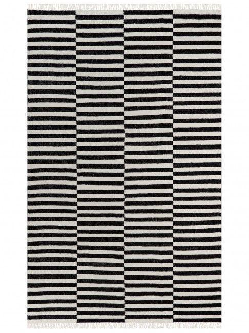 Kilin Stripes B&W 2,00x2,50  - Tenda dos Tapetes