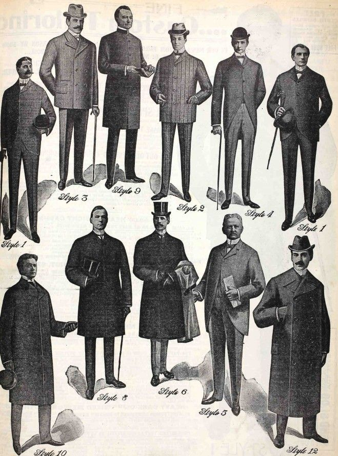 1900 clothing men - Google Search