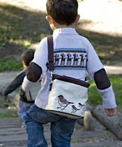 Designed by Canadian mum-of-three, Catherine Choi, these cooler bags are PVC and phthlate-free and lead safe.