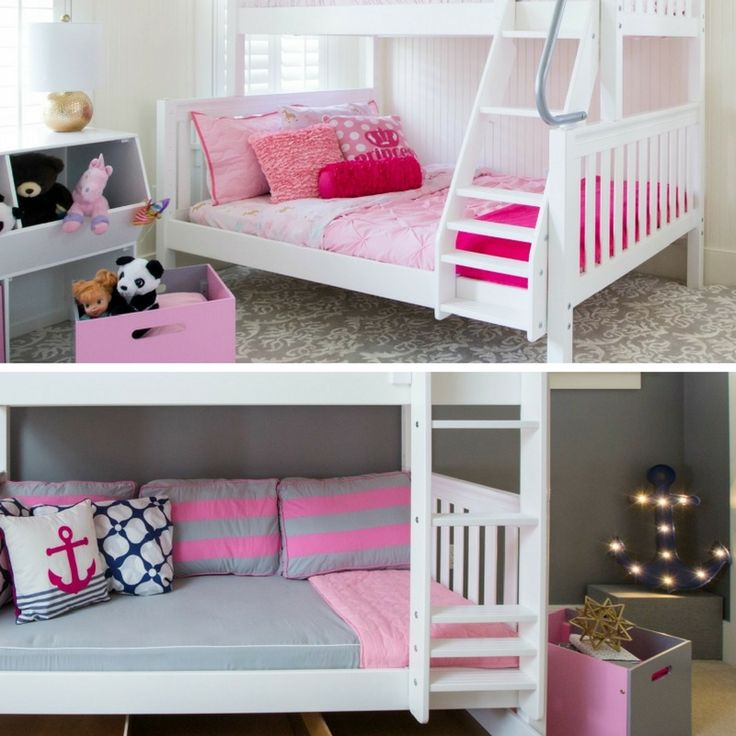 Combine any of our Maxtrix toy boxes with our solid wood kid's beds to complete a kid's bedroom or playroom.