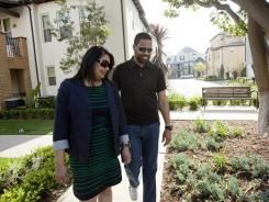 Moving to the Center: Maurice Turner and Preet Bassi, who live in an Anaheim, Calif., development, wanted urban amenities with a homey feel.: Houses Marketing, Urban Design, Urban Plans, Marketing Changing, Cities Plans, Mauric Turner, Preet Bassi, Homey Feelings, Urban Amenities