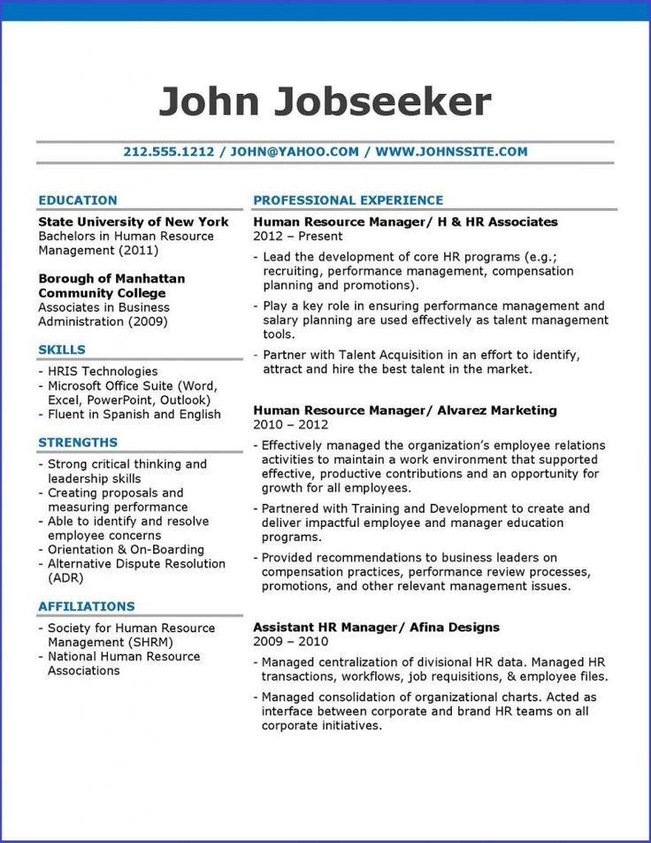 43 best Resume Tips Improve your resume images on Pinterest - hr resume