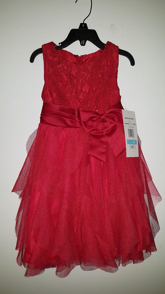 Rare Editions Red Dress  FOR SALE #RareEditions #FormalParty