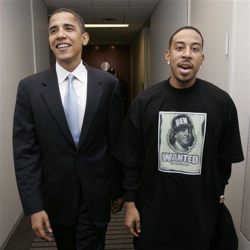 president #obama #ludacris If Youre an upcoming ARTIST CLICK HERE!! http://www.kidDyno.com