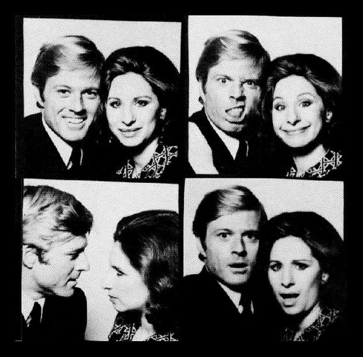 "Robert Redford y Barbra Streisand en ""Tal como Éramos"" (The Way We Were), 1973"