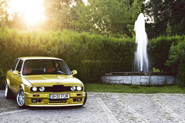 BMW E30 Coupe by CiprianMihai, via Flickr
