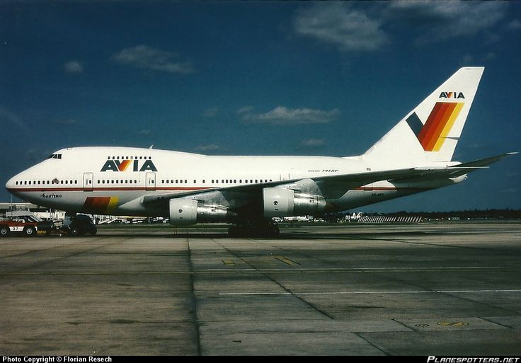 Avia Airlines - ZS-SPC -  Boeing-747SP
