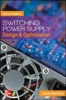 Switching power supply design & optimization / Sanjaya Maniktala #novetatsfiq2017
