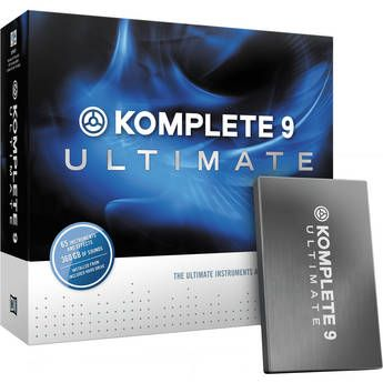 Native Instruments   KOMPLETE 9 ULTIMATE - Virtual Instruments and Effects Collection