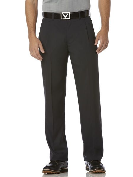 chevron pleated men's pant from callaway  golfapparel