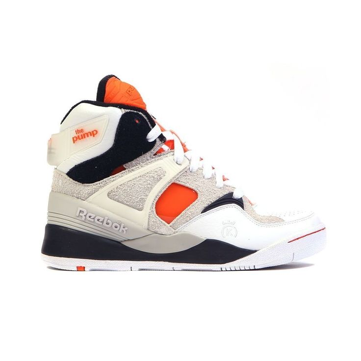 retro reebok pump trainers on biggest