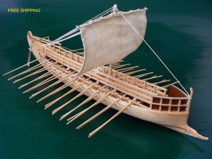#ebay #Wooden #Model #Kit #Greek #Bireme #Construction #Woodcraft #Wood #Ship #Hobby #Scale 1/72