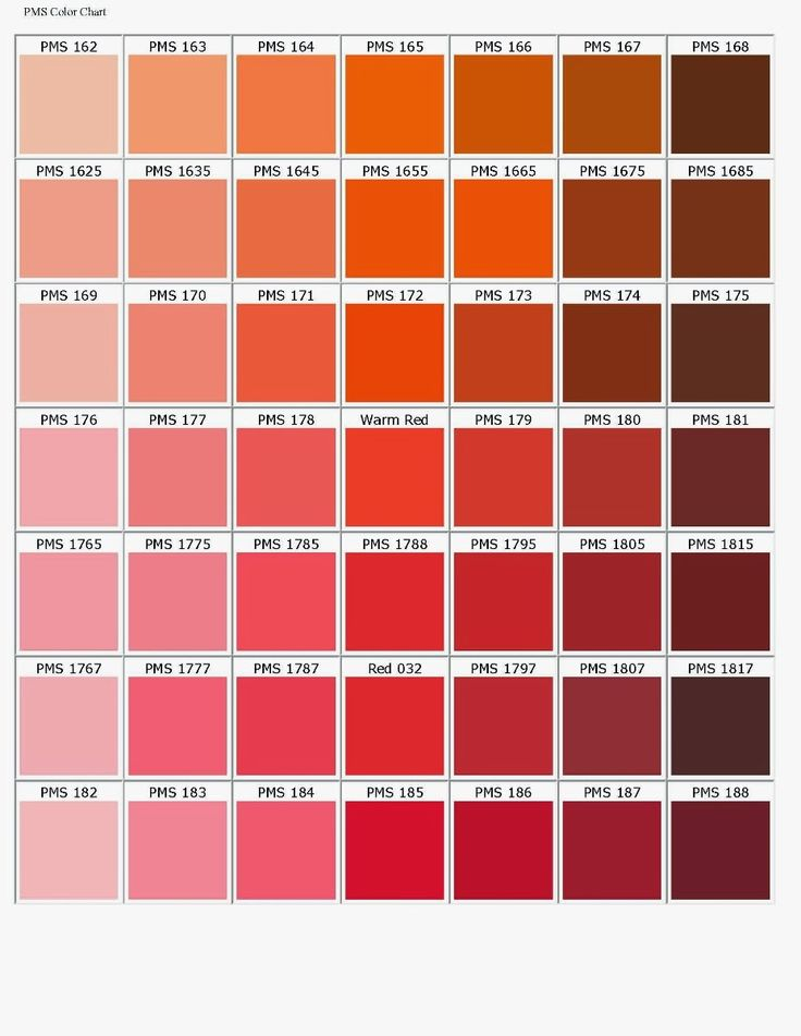 The  Best Pms Color Chart Ideas On   Pms Colour