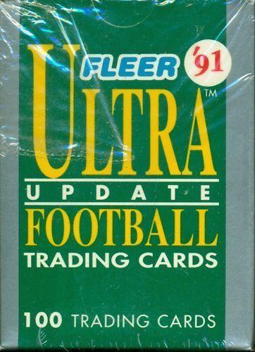 1991 Fleer Ultra Football Update Sealed Box Set w/Favre RC