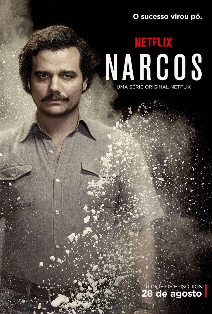 """""""O sucesso virou pó""""; Confira os novos cartazes de Narcos   Notícias   Filmow"""