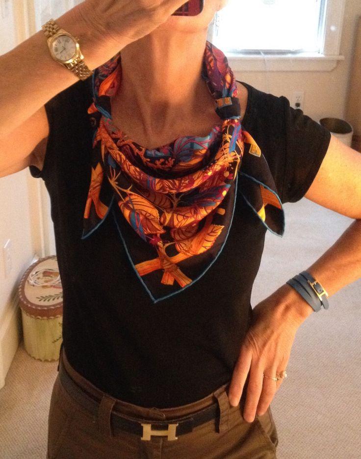 Best 25+ Scarf knots ideas on Pinterest | How to wear ...