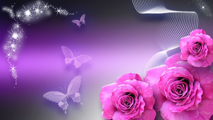 Pink And Purple Butterfly Background | nature wallpaper sparkle purple pink wallpapers 1920x1080