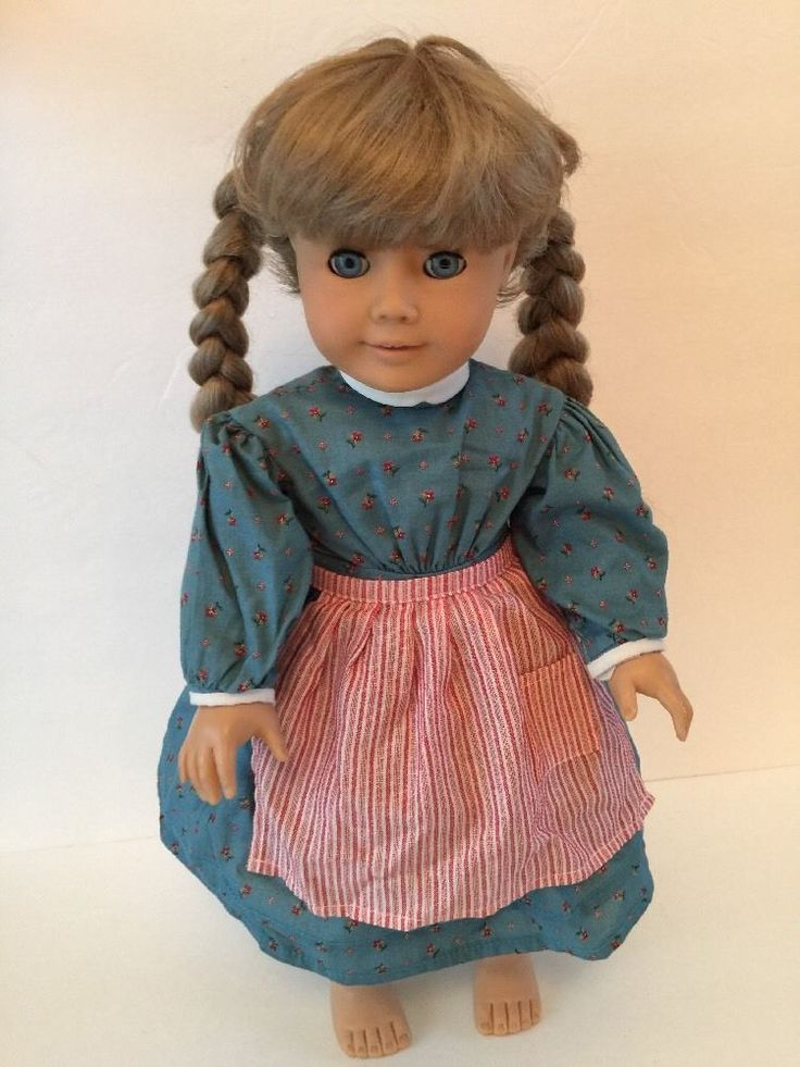 American Girl KIRSTEN Doll PLEASANT COMPANY Meet Outfit! Tagged1986! #AmericanGirl