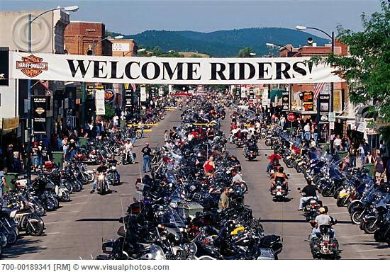 Sturgis, SD 2000.  Rode there from Iowa on our Harley.