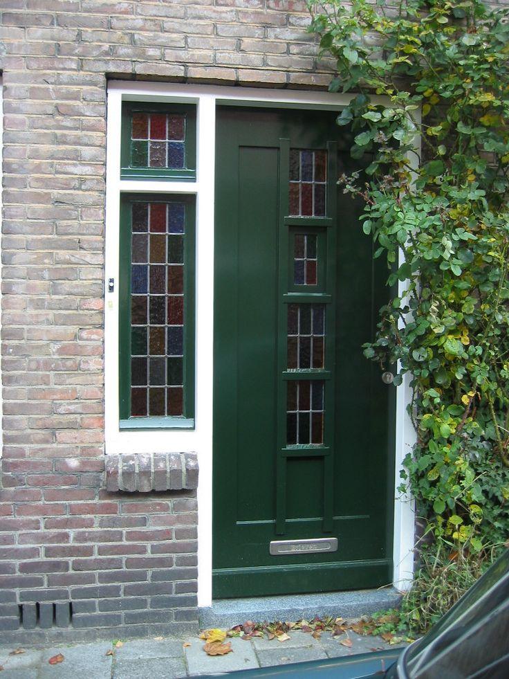 Jaren 30 voordeur