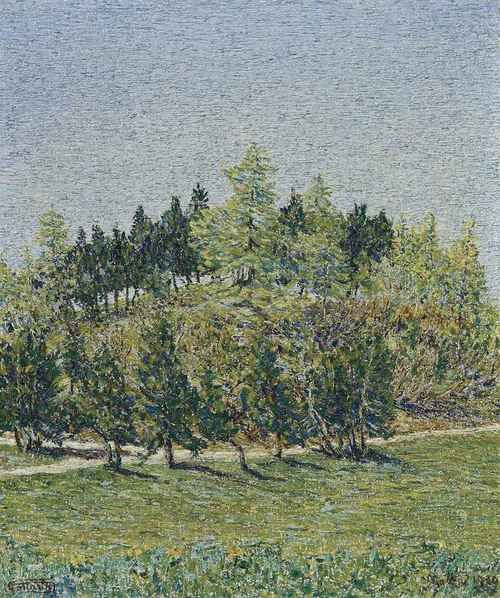 Alberi di primavera, 1920, Gottardo Segantini. Swiss (1882 - 1974)