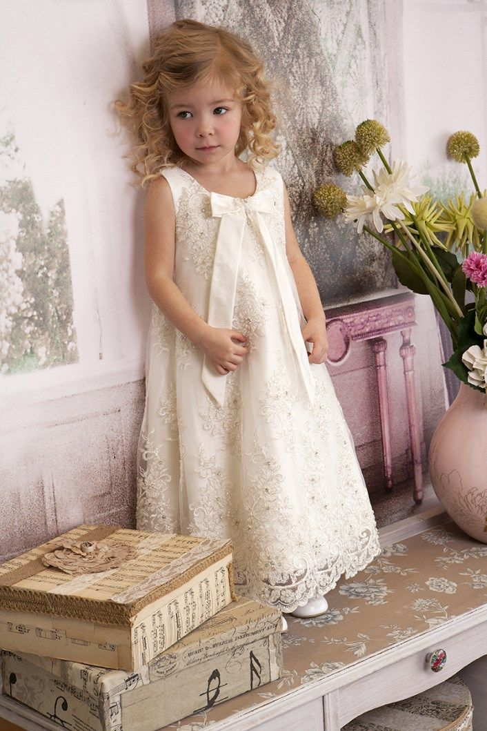 Christening Dress  Christening Gown Baptism Dress  Sty.No G 1007-1 www.babyhautecouture.com