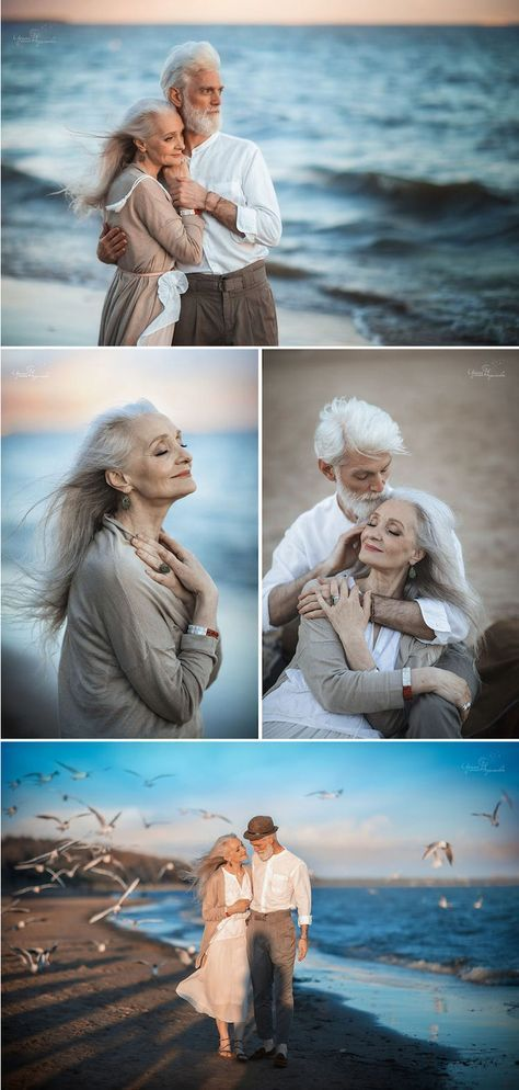 Photographer Irina Nedyalkova snapped a series of endearing pictures of an elderly couple in love.