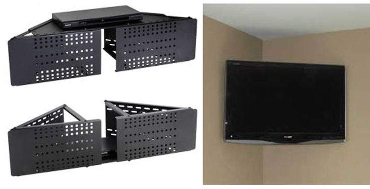 How To: Mount a Flat Panel TV in the Corner