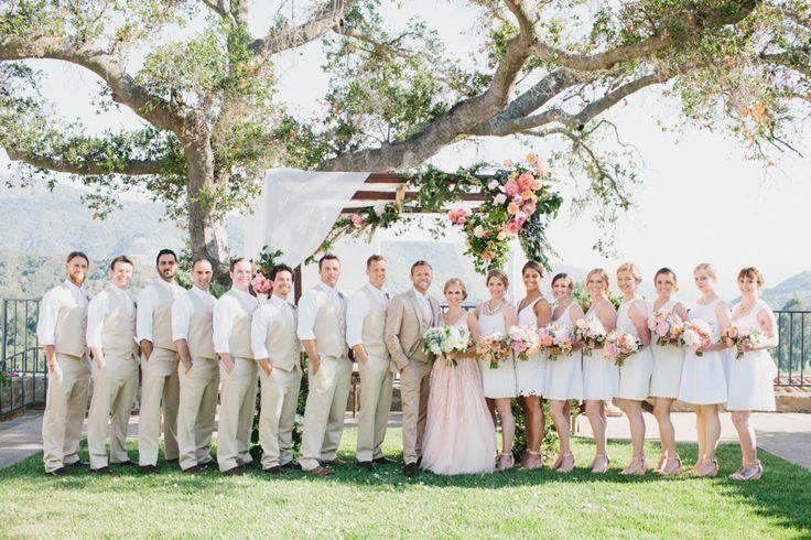 Photography: Marianne + Joe Of Marianne Wilson Photography - www.mariannewilsonphotography.com  Read More: http://www.stylemepretty.com/2014/12/29/colorful-summer-wedding-at-ojai-valley-inn/