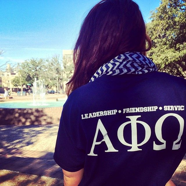 """Want to get involved on campus? RUSH ALPHA PHI OMEGA! #APOWednesday"""