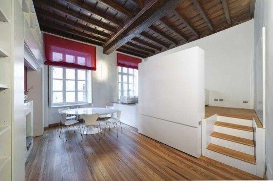"""Comment gagner de la place dans un petit appartement ? Avec un """"lit tiroir"""" bien-sûr !"""