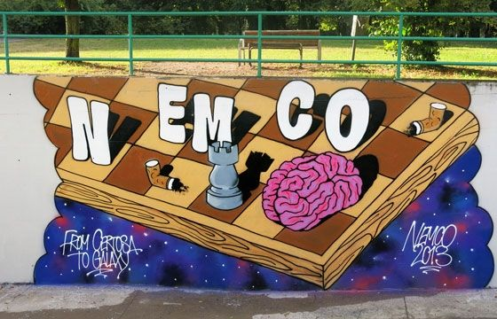 Juxtapoz Magazine - An Update with Nemco
