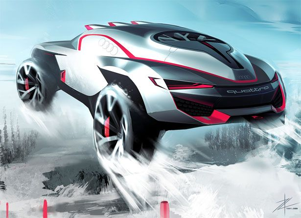 Rally King Concept Car by Tony Chen   ps sketch   Pinterest   Chen, Rally and Cars