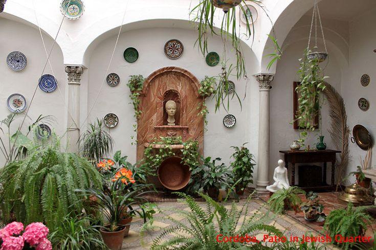 Фотографии Городов Мира :: Испания - Кордова :: Кордова, дворик в еврейском квартале