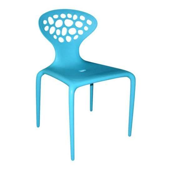 Cadeira Supernatural Azul (Lovegrove) Dimensões: 49x45x82 prazo de entrega: 26 dias úteis  Preço:169,90